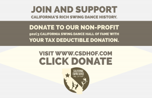 California Swing Dance Hall of Fame Donation Link